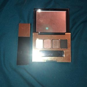 Estée Lauder eyeshadow with lipstick